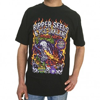 RIPPER SEEDS & PURPLE CITY GENETICS PARTY T-SHIRT