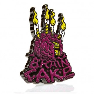 PIN LOGO BRAIN CAKE