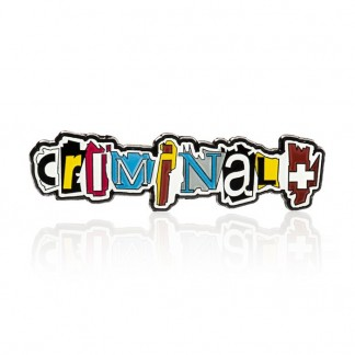 PIN LOGO CRIMINAL+