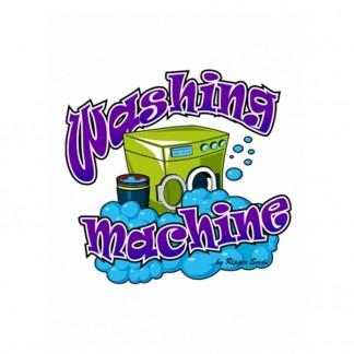 PEGATINA WASHING MACHINE