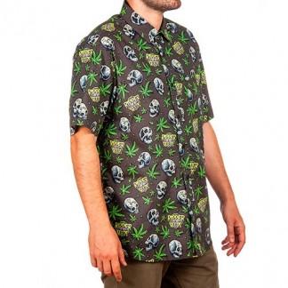 Camisa Ripper Seeds Antracita